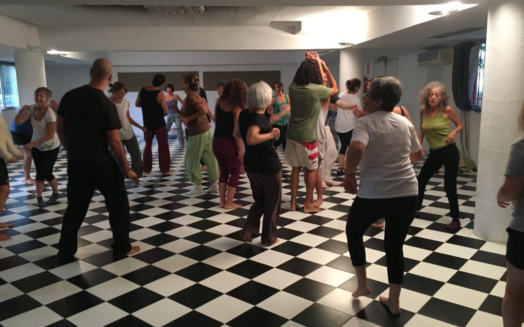 Dos talleres de Movimiento y Armonización Río Abierto el 22 de diciembre.
